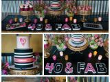 40 Birthday Decoration Ideas Glamorous 40th Birthday Party Pretty My Party Party Ideas