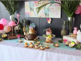 40 Birthday Decorations Ideas Kara 39 S Party Ideas 40th Birthday Tropical soiree Kara 39 S