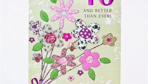 40 Birthday Flowers 40th Birthday Card Bouquet Of Flowers Only 99p