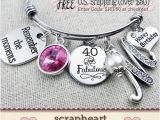 40 Birthday Gifts for Her 40th Birthday Gift for Her Milestone Birthday Gifts for