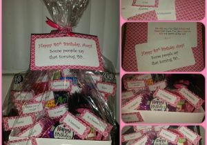 40 Birthday Gifts For Her Quot Some People Say Turning Gift Basket Idea