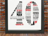 40 Birthday Gifts for Him Personalized 40th Birthday Gift for Him 40th by Blingprints