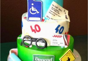 40 Year Old Birthday Decorations Cake Ideas A