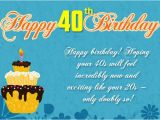 40th Birthday Card Messages Funny 120 Best Happy 40th Birthday Wishes and Messages