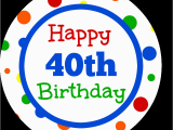 40th Birthday Cards for Facebook 40th Birthday Gifts Gift Card Bouquet Fun Squared