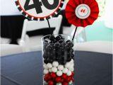 40th Birthday Centerpiece Decorations 40th Birthday Centerpieces On Pinterest