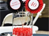 40th Birthday Centerpiece Decorations A Star Studded 40th Birthday Party Tidbits Twine