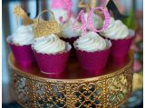 40th Birthday Cupcake Decorations A Glamorous 40th Birthday Party Hoopla events Krista O
