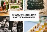 40th Birthday Decoration Ideas for Men 17 Cool 40th Birthday Party Ideas for Men Shelterness