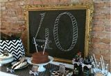 40th Birthday Decoration Ideas for Men 40th Birthday Party Idea for A Man