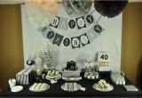 40th Birthday Decoration Ideas for Men Mon Tresor Sweet Table Contest Submission Round 6