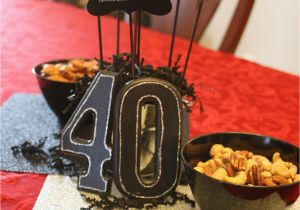 40th Birthday Decorations For Men A Christian Themed Manly Surprise Party