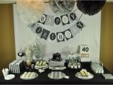 40th Birthday Decorations for Men Mon Tresor Sweet Table Contest Submission Round 6
