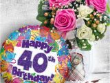 40th Birthday Flowers and Balloons 8 Best order Send Get Well Flowers with Free Flowers