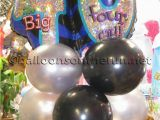 40th Birthday Flowers and Balloons Balloons On the Run Party Decorations R 39 Us Balloon Bouquets
