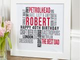 40th Birthday Gifts for Him Uk 40th Birthday Gifts Present Ideas for Him Chatterbox Walls