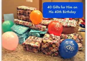 45a75da69080 40th Birthday Ideas for Men Funny Gifts 40 Gifts for Him On His 40th  Birthday Stressy