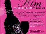 40th Birthday Invitation Sayings 8 40th Birthday Invitations Ideas and themes Sample