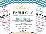 40th Birthday Invitation Templates Free Download 40th Birthday Invitations 15 Free Psd Vector Eps Ai