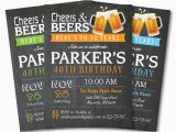 40th Birthday Invitations for Male 40th Birthday Invitations 15 Free Psd Vector Eps Ai