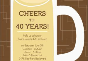 40th Birthday Invitations Ideas For Quotes Quotesgram