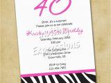 40th Birthday Invitations Ideas Surprise 40th Birthday Invitation Wording Samples Best