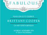 40th Birthday Invitations Templates 40th Birthday Ideas Free 40th Birthday Invitation