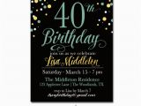 40th Birthday Invite Template 24 40th Birthday Invitation Templates Psd Ai Free