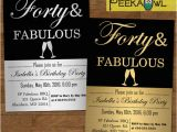 40th Birthday Invite Template 40th Birthday Invitations 15 Free Psd Vector Eps Ai