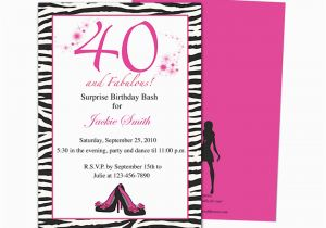 40th Birthday Invite Template Invitation Templates 40th Birthday Party Http