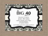 40th Birthday Invites Templates 8 40th Birthday Invitations Ideas and themes Sample