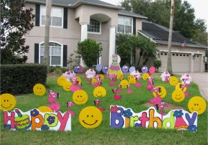 40th Birthday Lawn Decorations Yard Decoration Ideas