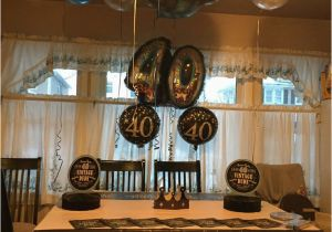 40th Birthday Party Decorations For Men Him
