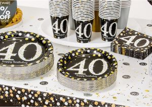 40th Birthday Party Decorations For Men Ideas Sister