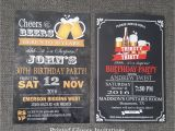 40th Birthday Party Invitations for Men 40th Birthday Invitation for Men 30th Birthday Invitation for