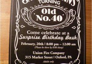 40th Birthday Party Invitations For Men Ideas Bagvania Free