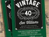 40th Birthday Party Invitations for Men 40th Birthday Party Invitations for Men Dolanpedia