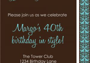 40th Birthday Party Invitations Online 9 Best Images Of Men 40th Birthday Invitations Printable