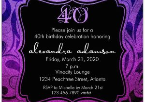 40th Birthday Party Invitations Online Brilliant Emblem 40th Birthday Party Invitations Paperstyle