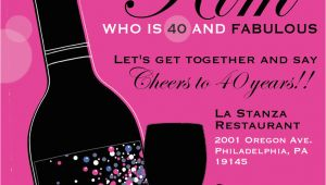 40th Birthday Photo Invitations 8 40th Birthday Invitations Ideas and themes Sample