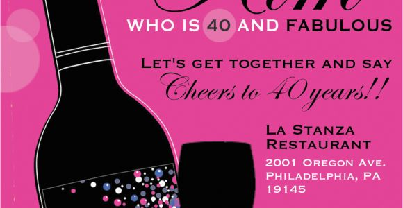 40th Birthday Photo Invitations 8 40th Birthday Invitations Ideas and themes Sample