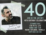 40th Birthday Photo Invitations Printable 40th Birthday Photo Invitations Jellyfish Prints