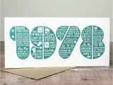 40th Birthday Place Cards 40th Birthday Card by Intwine Design Notonthehighstreet Com