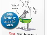 40th Birthday Place Cards 40th Birthday Card