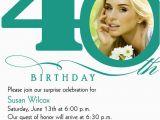 40th Birthday Sayings for Invitations 40th Birthday Invitation Wording Bagvania Free Printable