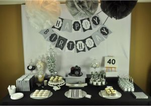 40th Birthday Table Decoration Ideas Mon Tresor Sweet Contest Submission Round 6