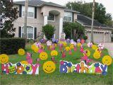 40th Birthday Yard Decorations 40th Birthday Yard Decoration Ideas