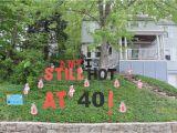 40th Birthday Yard Decorations Yard Decorations for 40th Birthday Decoratingspecial Com