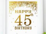 45th Birthday Celebration Ideas for Him 45th Birthday Party Etsy