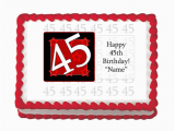 45th Birthday Decorations 45th Birthday Party Ideas 45th Birthday Party Supplies